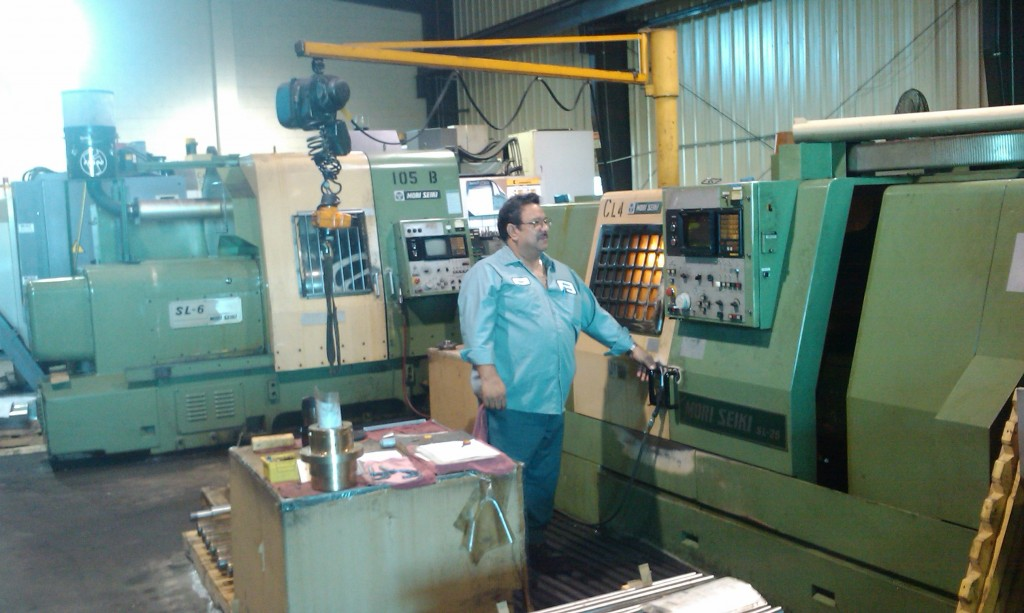 CNC Tuning production parts on Mori-seiki cnc lathe