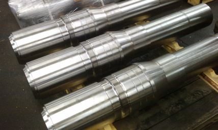 Drive shafts for mining equipment