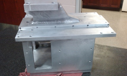 Aluminum head for honing machine