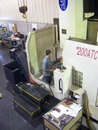 CNC VTL at Milan's Machining