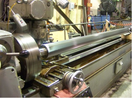 Maximum length of cut on Heckert Hobbing machine 240 inches